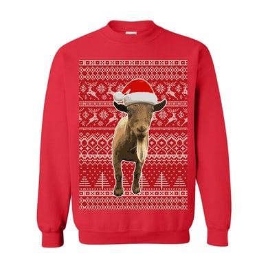 Leona Lewis Goat Santa Sweatshirt