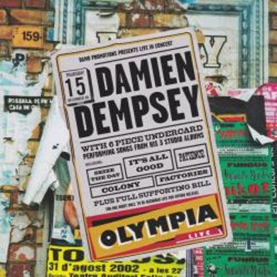 Damien Dempsey Live At The Olympia CD
