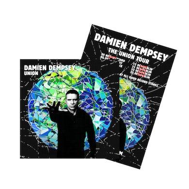 Damien Dempsey Union Deluxe Deluxe CD