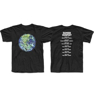 Damien Dempsey Union Black T-Shirt
