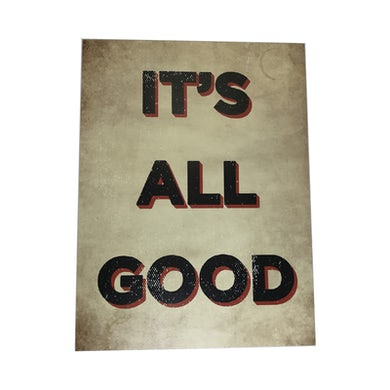 Damien Dempsey Its All Good A2 Poster