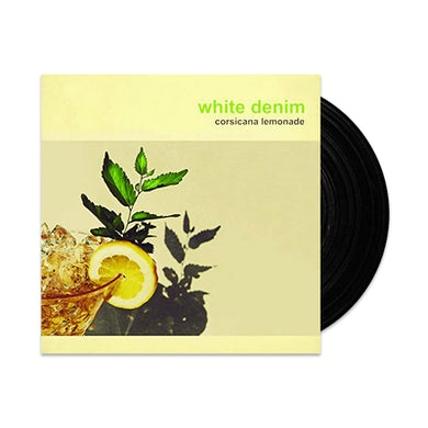 White Denim  Corsicana Lemonade LP (Vinyl)