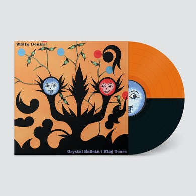 White Denim  Crystal Bullets b/w King Tears Orange/Black Vinyl