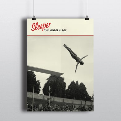 Sleeper Numbered Album Poster Print (Signed)