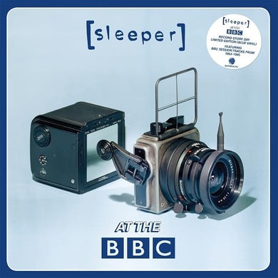 Live at the BBC Transparent Blue Vinyl