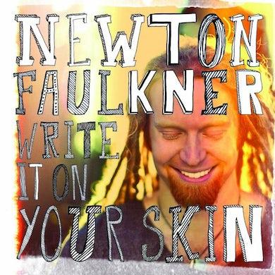 Newton Faulkner Write It On Your Skin CD