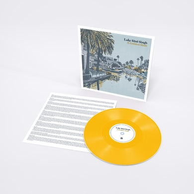 Luke Sital-Singh A Golden State Letterpressed Outersleeve 12 Inch (Vinyl)