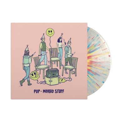 Pup Morbid Stuff Half & Half Clear/Colour LP (Vinyl)