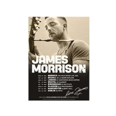 James Morrison Event Litho Print