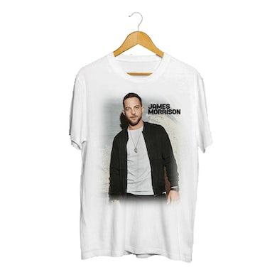 James Morrison Photo Fade White T-Shirt