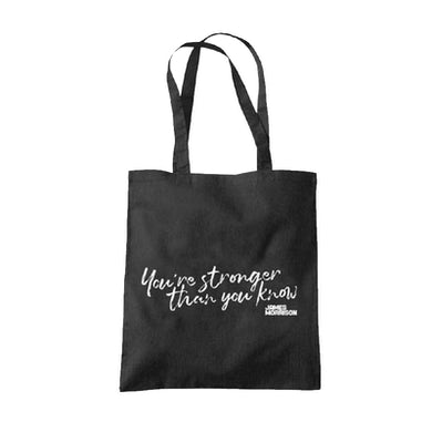 James Morrison You're Stronger Than You Know Tote Bag
