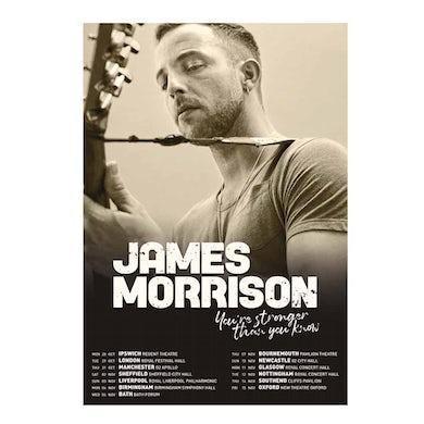 James Morrison Fall 2019 Tour Print  (Signed)
