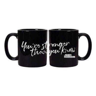 James Morrison You're Stronger Than You Know Black Mug