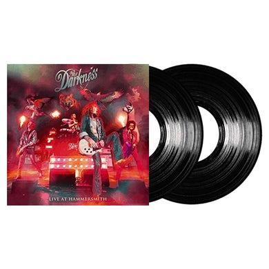 The Darkness Live At Hammersmith Double LP (Vinyl)