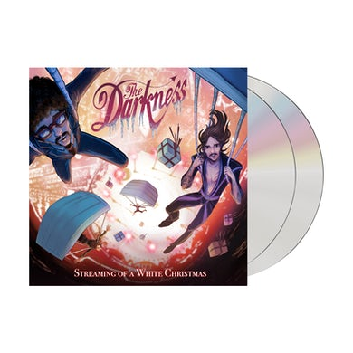 The Darkness Streaming Of A White Christmas 2CD CD