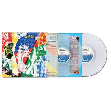 Ufo  Strangers In The Night 2020 Remaster Clear Double Vinyl