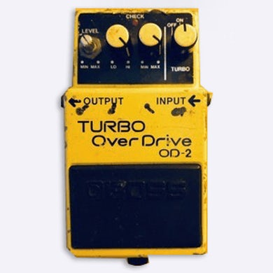 Gang Of Four Turbo Over Drive OD-2 FX Pedal