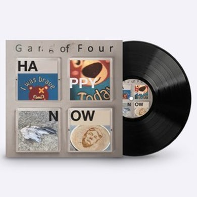 Gang Of Four PRIVATE LINK - Happy Now - Black Vinyl LP