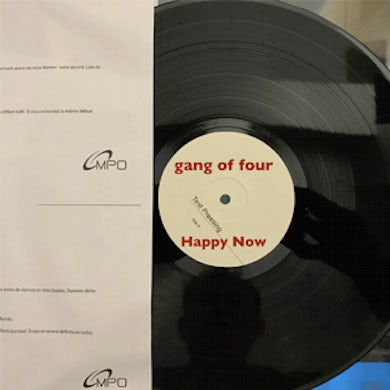 Gang Of Four PRIVATE LINK - Happy Now - Test Pressing Vinyl LP