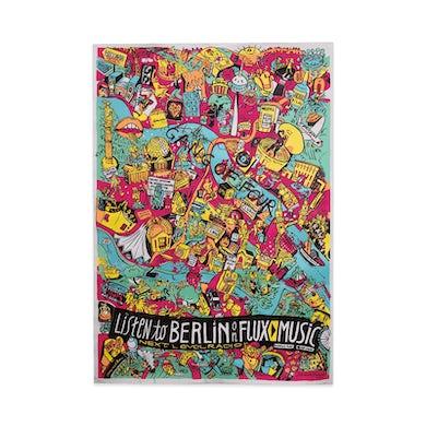 Gang Of Four Berlin Graffiti Poster