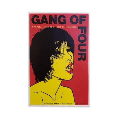 Gang Of Four Solana Beach Poster