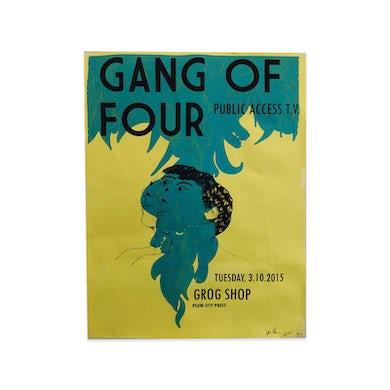 Gang Of Four Grog Shop Poster