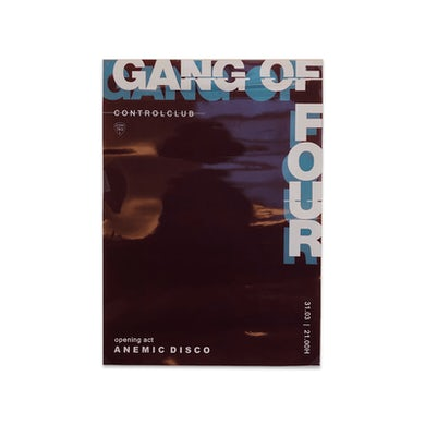 Gang Of Four Control Club Poster