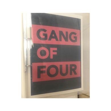 Gang Of Four Hi-Grade Scrapbook