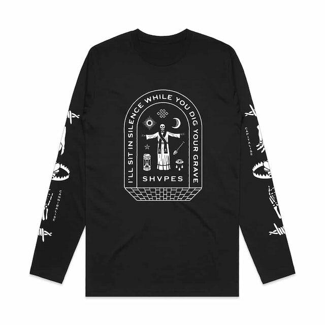 SHVPES Silence Longsleeve T-Shirt