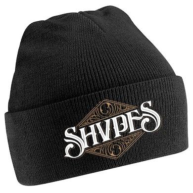 SHVPES Script Logo Black Cuffed Beanie