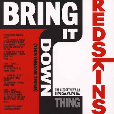 London Recordings Bring It Down (That Insane Thing) Red 10 Inch