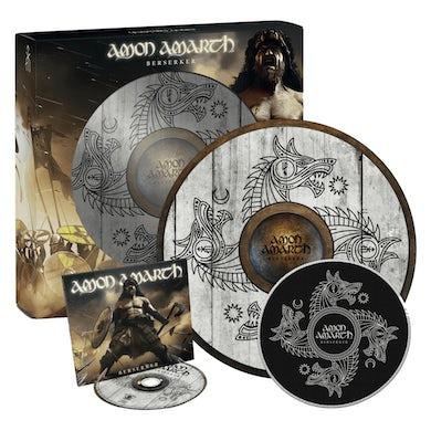 Amon Amarth Berserker Limited Edition Exclusive Shield Box Boxset