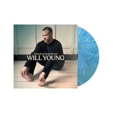 Will Young Crying On The Bathroom Floor Exclusive Turquoise Marble  Vinyl