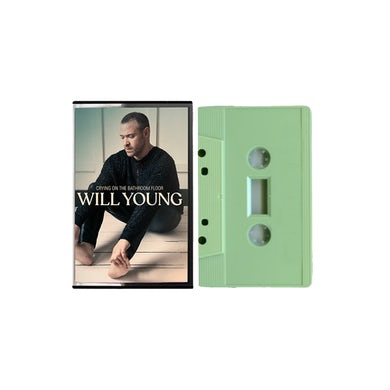 Will Young Crying On The Bathroom Floor Sage Green Cassette