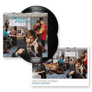 The Divine Comedy Office Politics Double Heavyweight LP (Vinyl)