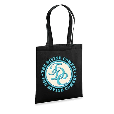 The Divine Comedy Office Politics Tote Bag - TDC logo
