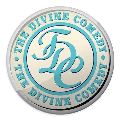 The Divine Comedy Office Politics Enamel Badge - TDC logo