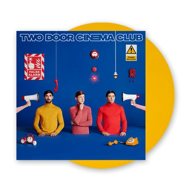 Two Door Cinema Club False Alarm Yellow LP (Vinyl)