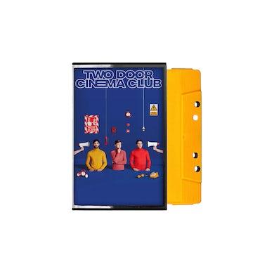 Two Door Cinema Club False Alarm Yellow Cassette