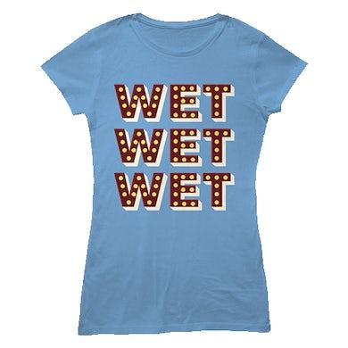 Wet Wet Wet 'Lights' T-shirt