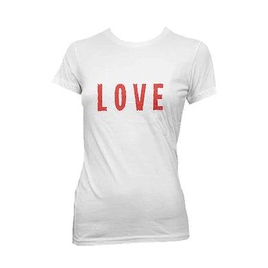 Wet Wet Wet 'Love' White T-shirt
