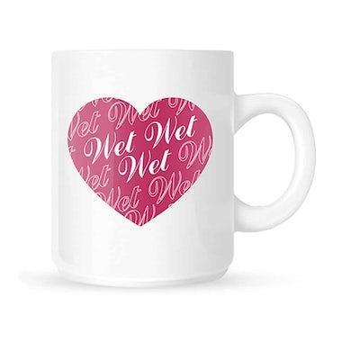 Wet Wet Wet Heart Mug