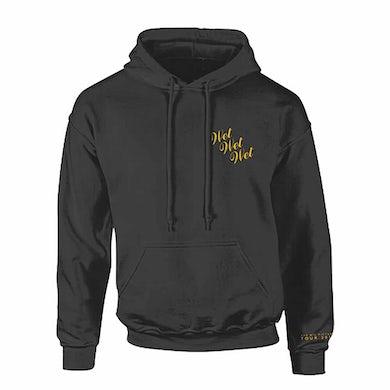 Wet Wet Wet Yellow Logo Hoody