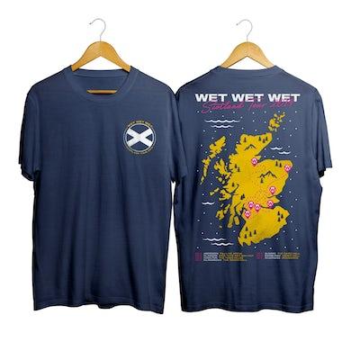 Wet Wet Wet Scotland Tour T-shirt