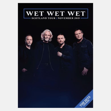 Wet Wet Wet Scotland Tour Programme