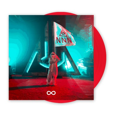 Never Not Nothing Translucent Red LP (Vinyl)