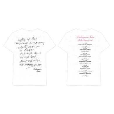Shakespears Sister Woke Up Ladies Tour T-Shirt