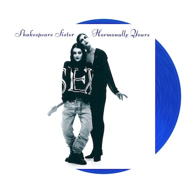 Hormonally Yours Transparent Blue LP (Vinyl)