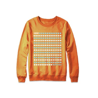 Orange Dot Drop Sweatshirt