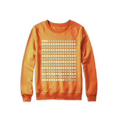 Evidence Orange Dot Drop Sweatshirt